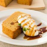 ■キャラメルパウンドケーキ