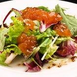 ◆自家製トマトジュレとベビーリーフのサラダ◆