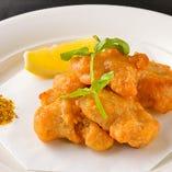 ◆鶏のカラアゲをオリジナルカレーソルトで+ひと味◆