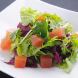 トマトジュレのサラダ