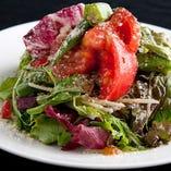 パルメジャーノのトマトサラダ