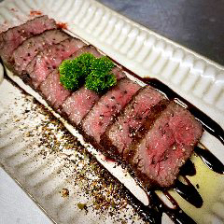 A5和牛いちぼ肉の炭焼きロースト