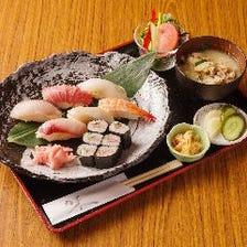 宴会でもランチでも職人の握り寿司