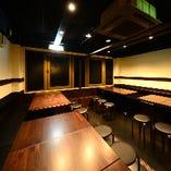 3階・テーブル個室(最大24名様) ※6名様用×4卓