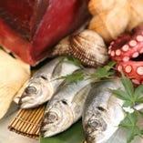 旬な食材を和食料理人が心をこめて料理します