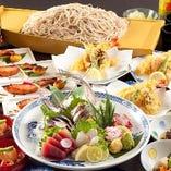 職人が手造りで提供するコース料理は税込3000円~