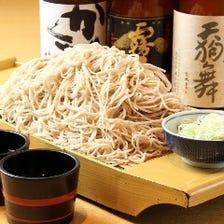 寿毛平 名物!舟盛り蕎麦