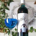 メディアで話題!青いワイン「Gik(ジック)」入荷