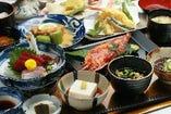 ミミガーやラフテーなど、郷土の味が楽しめる「和琉会席 珊瑚」