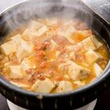 [温か鍋メニューも] 蟹味噌豆腐等あったか料理も多数