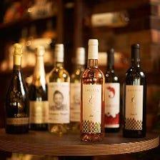 貴重なワインとの出会いを楽しんで♪