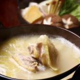 比内地鶏のコラーゲン鍋