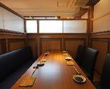 【半個室】テーブル席(4〜6名様)×2部屋