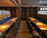 【半個室】テーブル席(17〜24名様)