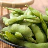 1) 枝豆