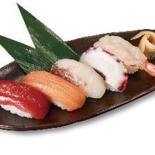 お寿司や軍艦巻が楽しめる居酒屋