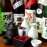 季節限定の日本酒各種