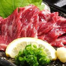 お鍋を待つ間「絶品肉料理」をどうぞ