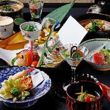 伝統の技が光る、京の旬を楽しむ宴