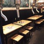 【テーブル席】宴会最大25名様まで可能◎女子会にも使いやすいおしゃれな店内