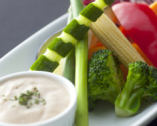 新鮮野菜をふんだんに使った 【色々野菜のバーニャカウダー】