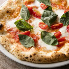 高秀牧場のモッツァレラチーズのピッツァ347
