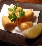 カマンベールチーズの天ぷら
