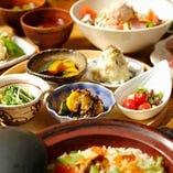 豆ちゃの彩りコース(お料理のみ)