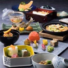 四季を映し出す美しい日本料理に舌鼓