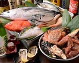 毎日築地で仕入れる獲れたての旬魚!魚好きも納得の刺身は絶品!