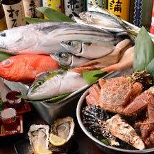 毎日直送される極鮮旬魚!