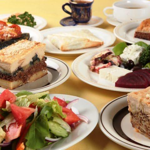 日本では珍しい本格ギリシャ料理