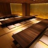 【8卓:堀りごたつお座敷(個室)】
