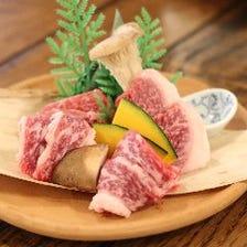 上質なお肉を食べ比べできる