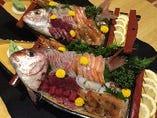 新鮮な魚介!!