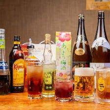 絶品創作料理の数々にお酒もすすむ!
