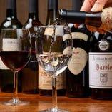 【ワイン】 イタリアンベースのお料理と相性抜群の銘柄を常備