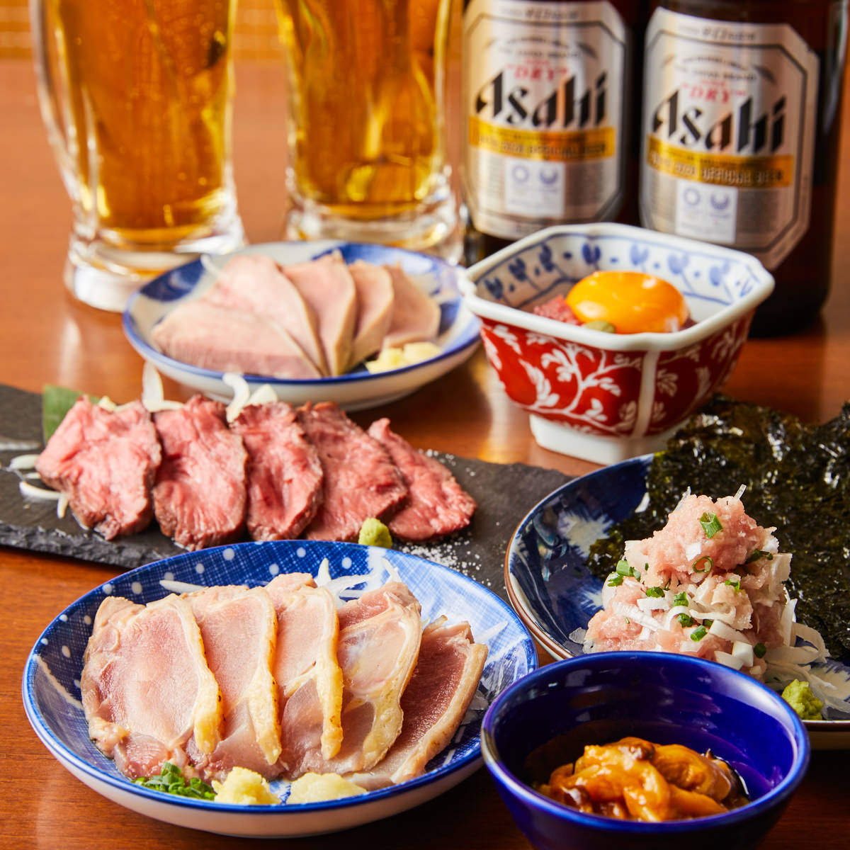 生ビール中ジョッキ430円(税込)!