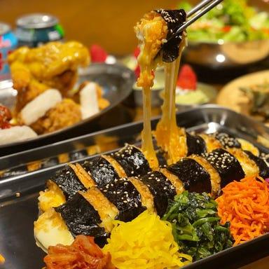 韓国カフェダイニング yol ヨル 名古屋駅前店 コースの画像