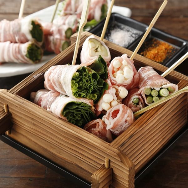 名物!栃木県産やしおポークの豚巻き