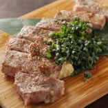 厳選した国産牛を使用した牛ステーキおろしポン酢【栃木県】