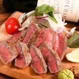 特選! 牛ロースのステーキ
