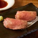 牛タンローストビーフ寿司