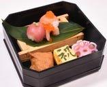 [特典] 夜限定!ご来店当日が誕生日の方へ手まり寿司プレゼント