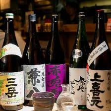 日本酒450円均一☆オーナーが厳選