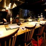 <町家×オープンキッチン>居心地の良いお洒落な空間です。
