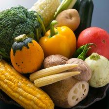 旬の大地の恵み♪京野菜や泉州野菜