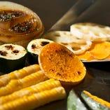 野菜も大人気☆京野菜や大阪泉州の野菜など旬の味を是非!