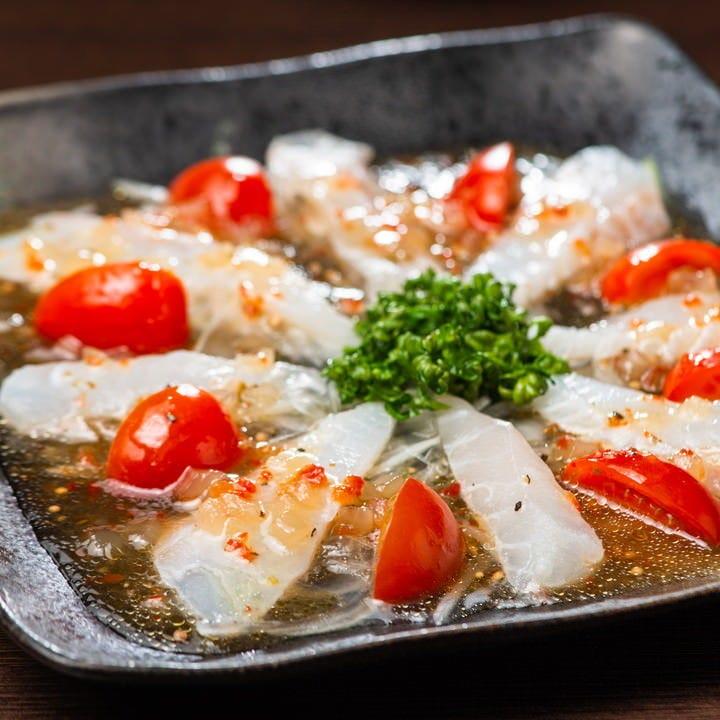 新鮮な鮮魚の逸品をご堪能!!