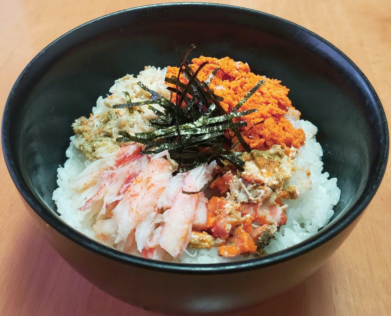 セイコガニ丼(冬季限定)
